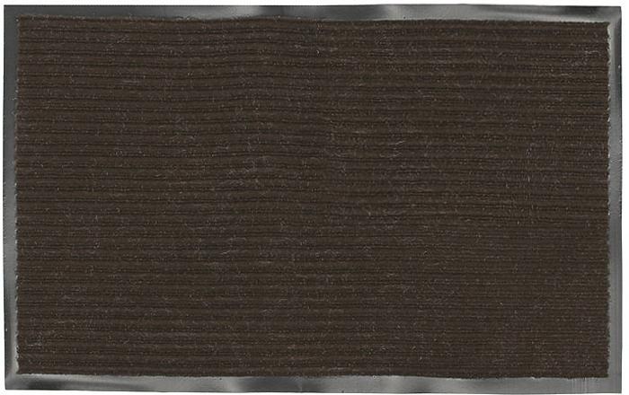 Коврик придверный Vortex, влаговпитывающий, цвет: коричневый, 50 см х 80 см коврик придверный vortex влаговпитывающий цвет коричневый 50 см х 80 см