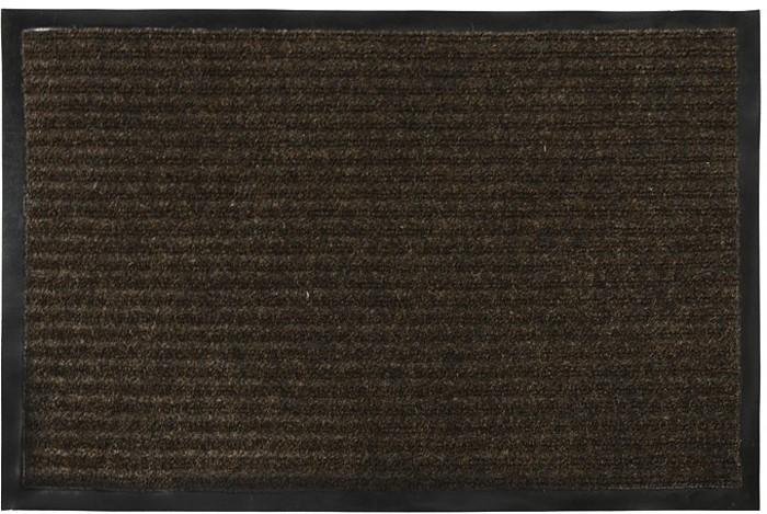 Коврик придверный Vortex, влаговпитывающий, цвет: коричневый, 40 см х 60 см коврик придверный vortex влаговпитывающий цвет коричневый 50 см х 80 см