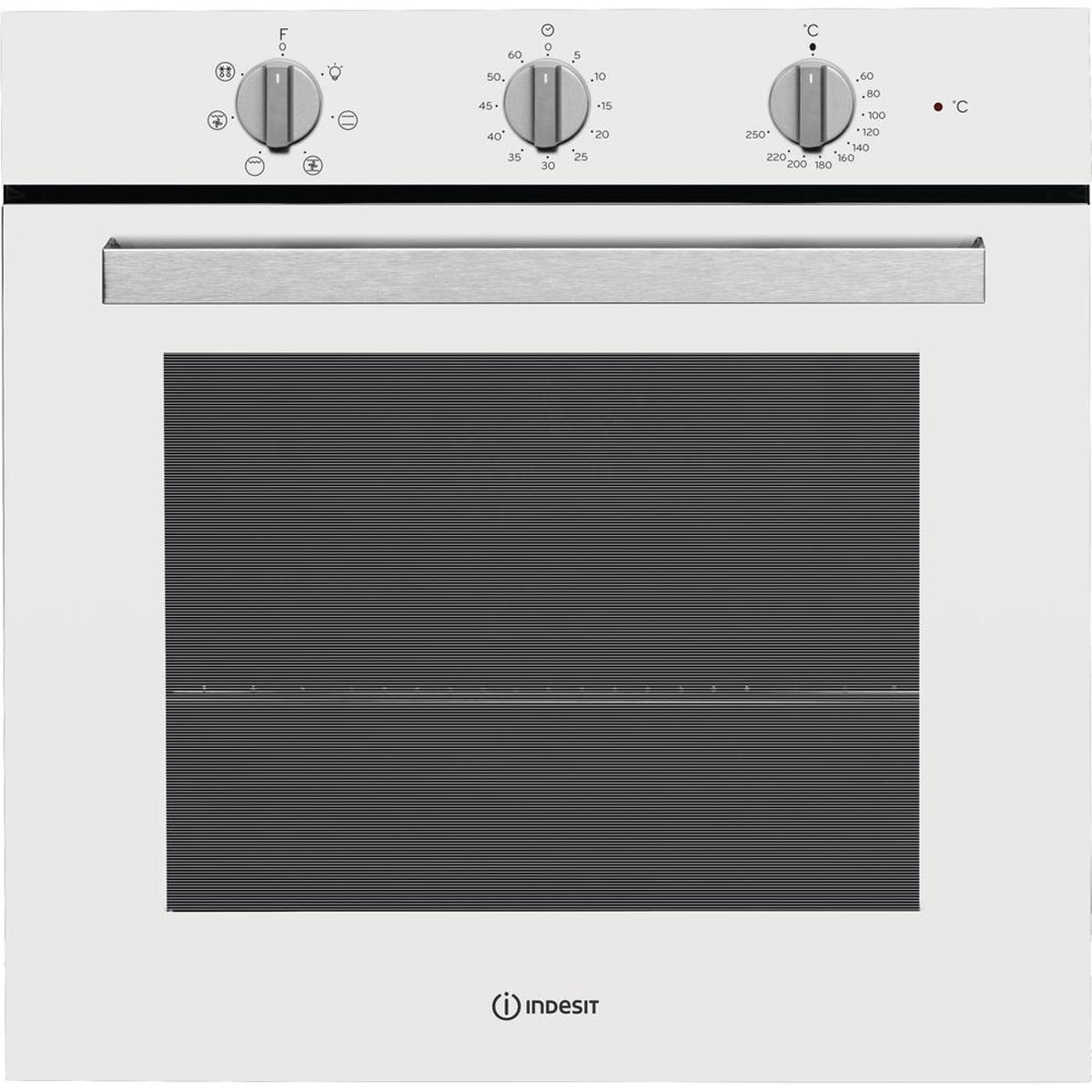 Встраиваемый электрический духовой шкаф Indesit IFW 6530 WH, white