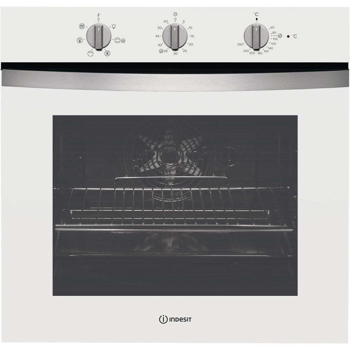 Электрический духовой шкаф встраиваемый Indesit IFW 4534 H WH, White
