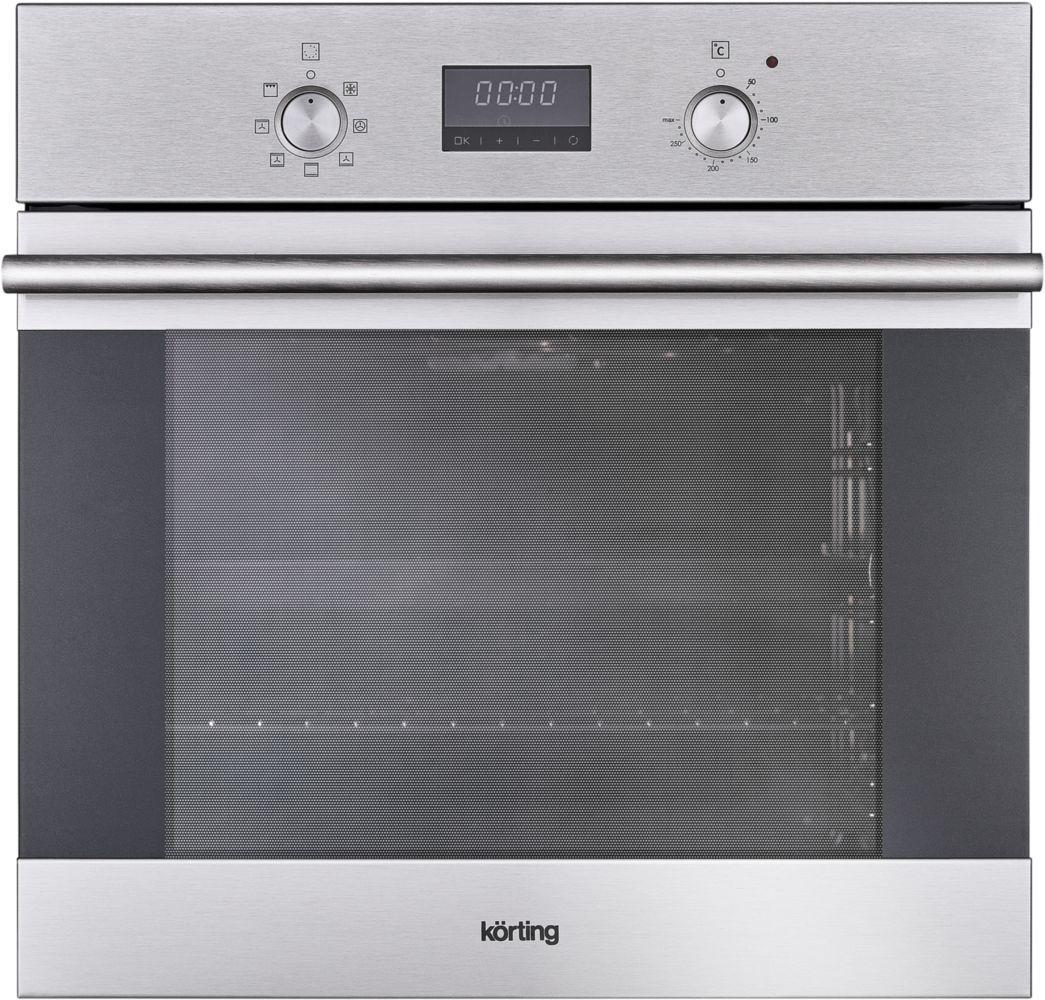 Korting OKB 771 CFX, Silver электрический духовой шкаф встраиваемый