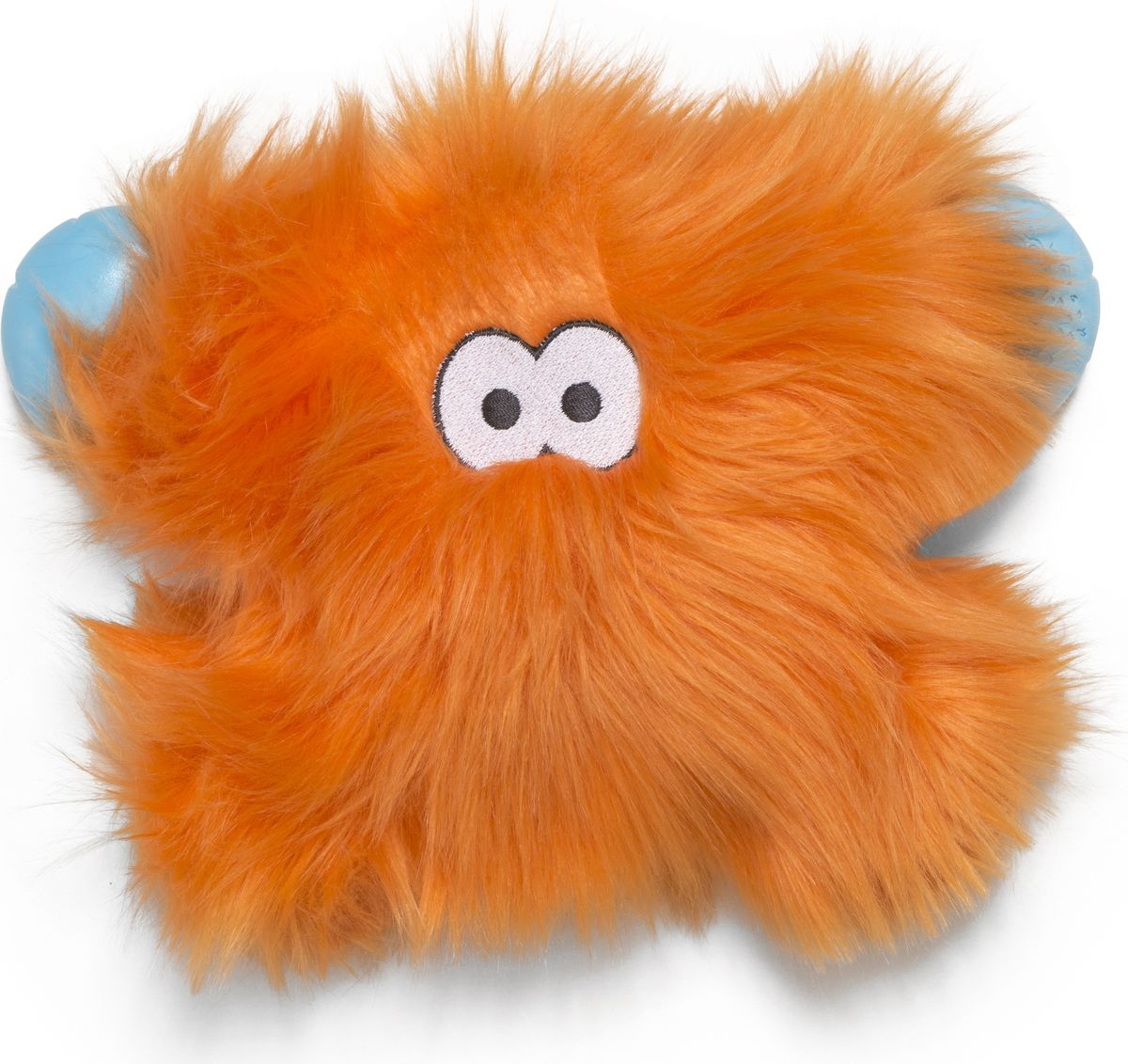 Игрушка для собак Zogoflex Rowdies Fergus, цвет: оранжевый, 24 см zogoflex zogoflex игрушка для собак мячик jive xs 5 см оранжевый
