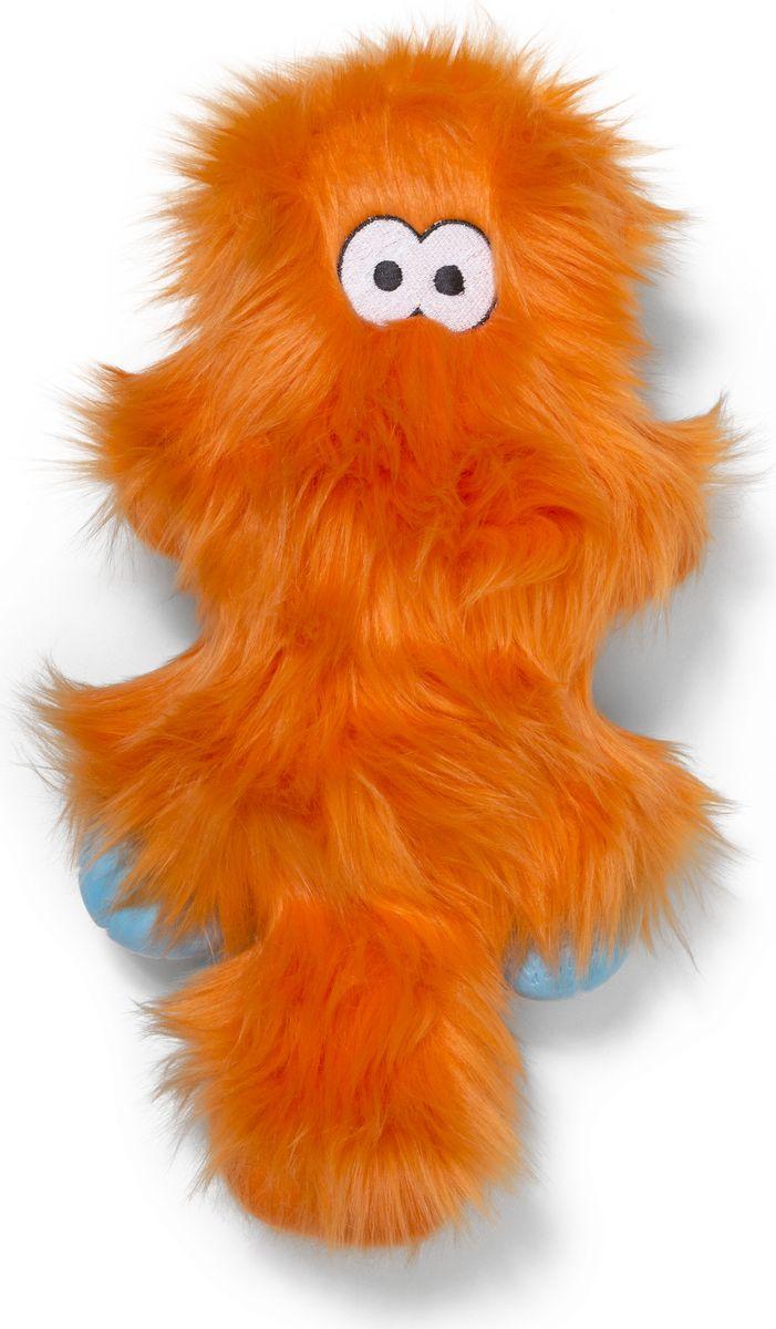 Игрушка для собак Zogoflex Rowdies Sanders, цвет: оранжевый, 17 x 35 см zogoflex zogoflex игрушка для собак мячик jive xs 5 см оранжевый