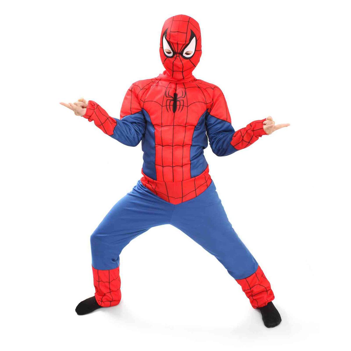 Батик Костюм карнавальный для мальчика Человек Паук размер 30