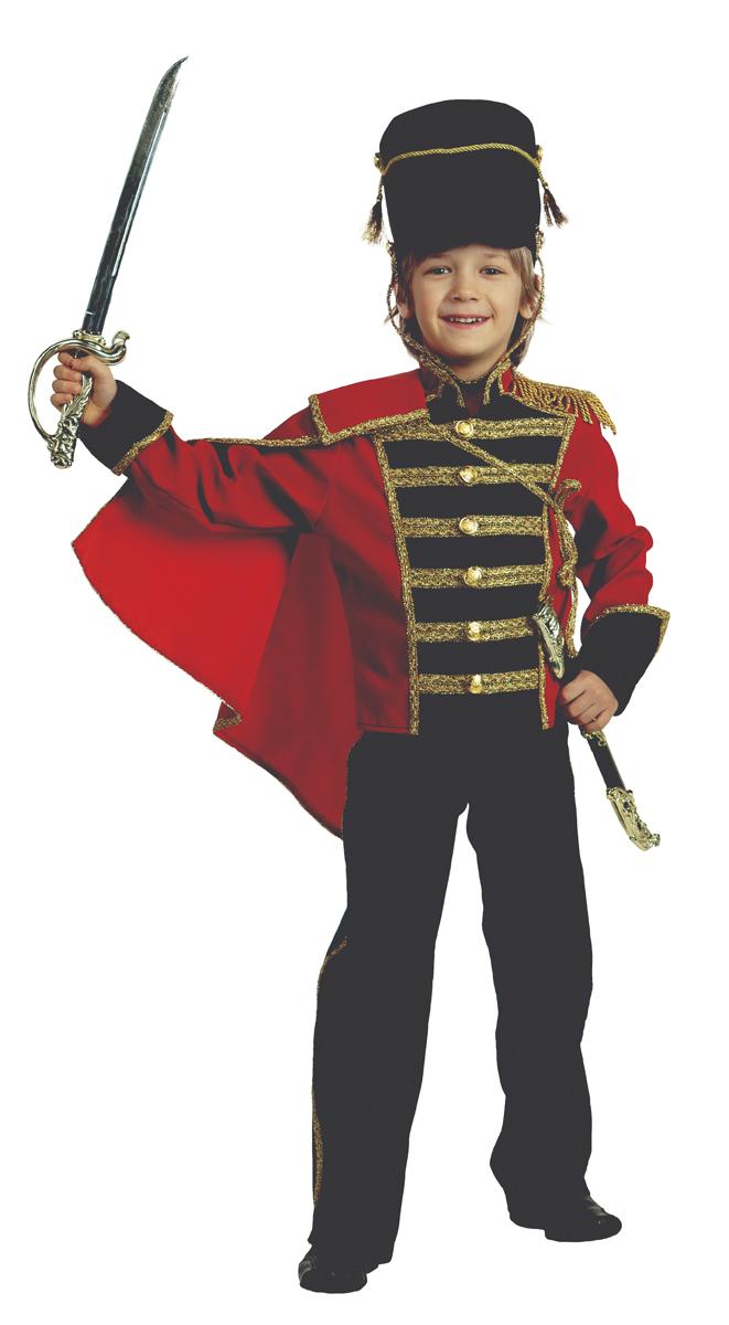 Батик Костюм карнавальный для мальчика Гусар размер 34