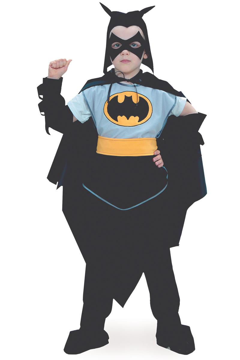 Батик Костюм карнавальный для мальчика Черный Плащ размер 40 батик костюм карнавальный для мальчика черный плащ размер 28