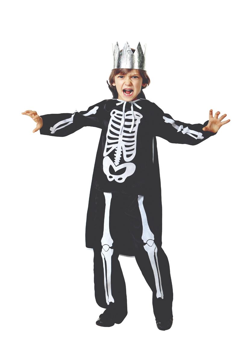 Батик Костюм карнавальный для мальчика Кащей Бессмертный размер 32