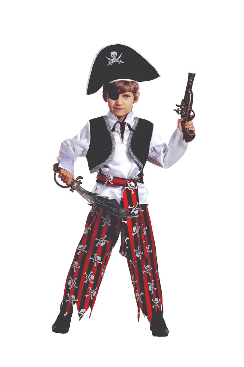 Батик Костюм карнавальный для мальчика Пират размер 30
