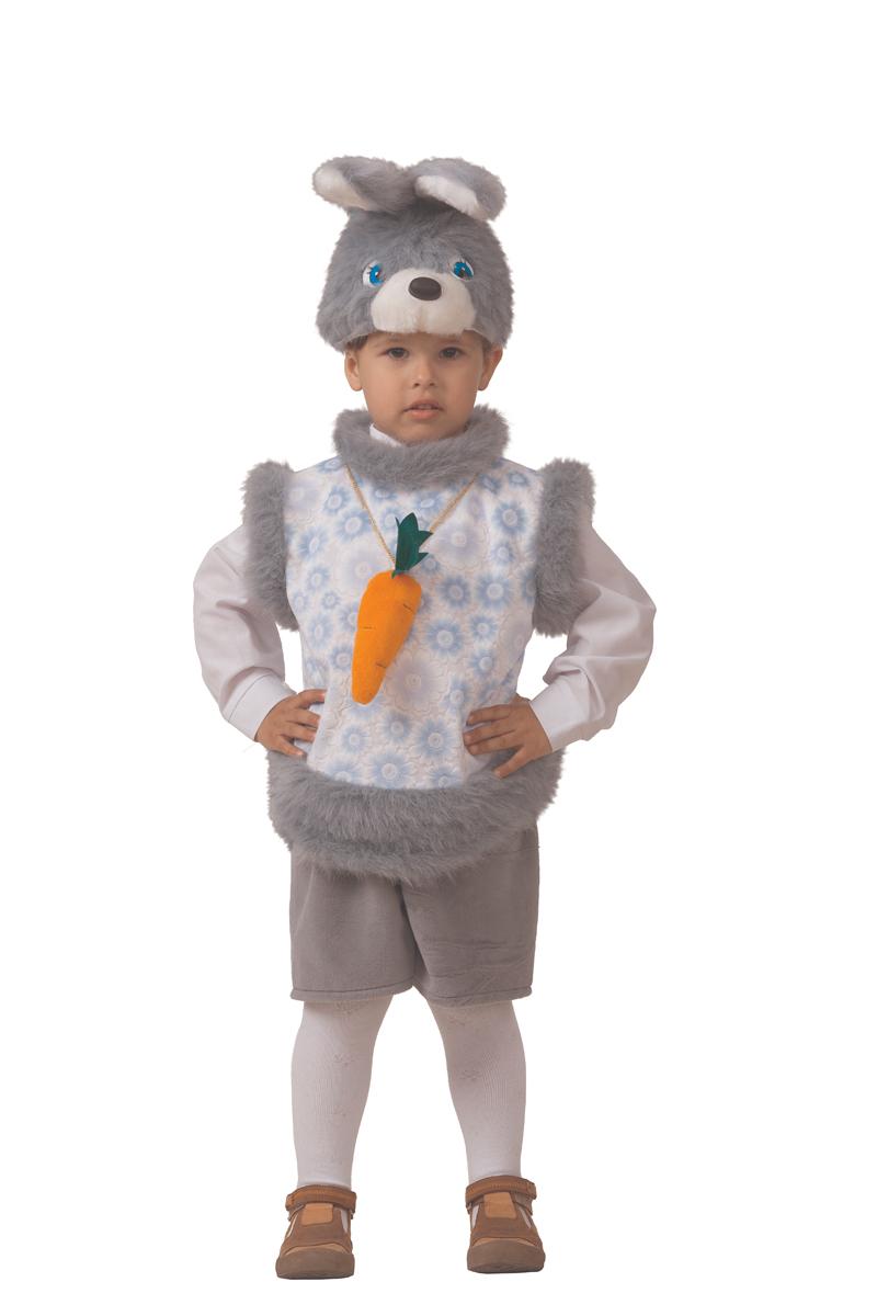 Батик Костюм карнавальный для мальчика Кролик Кроха размер 28