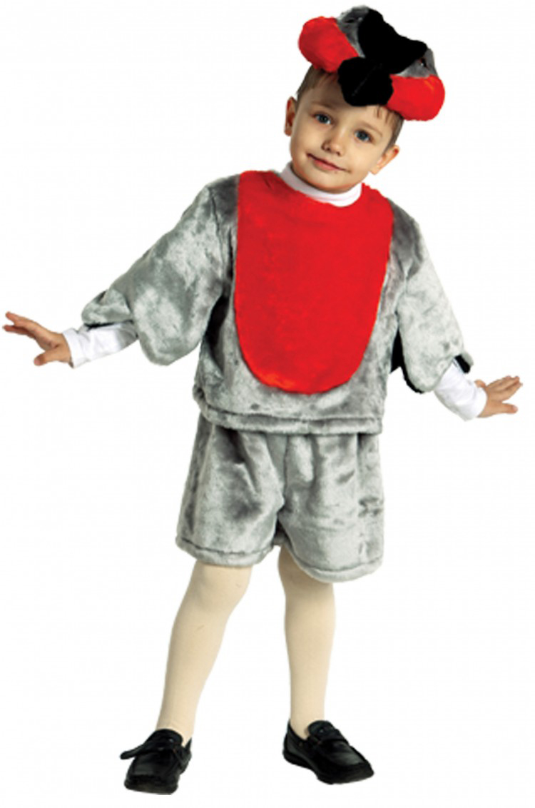 Батик Костюм карнавальный для мальчика Снегирь размер 28