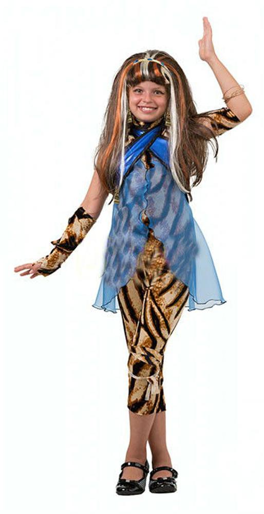 Батик Костюм карнавальный для девочки Клео де Нил размер 34