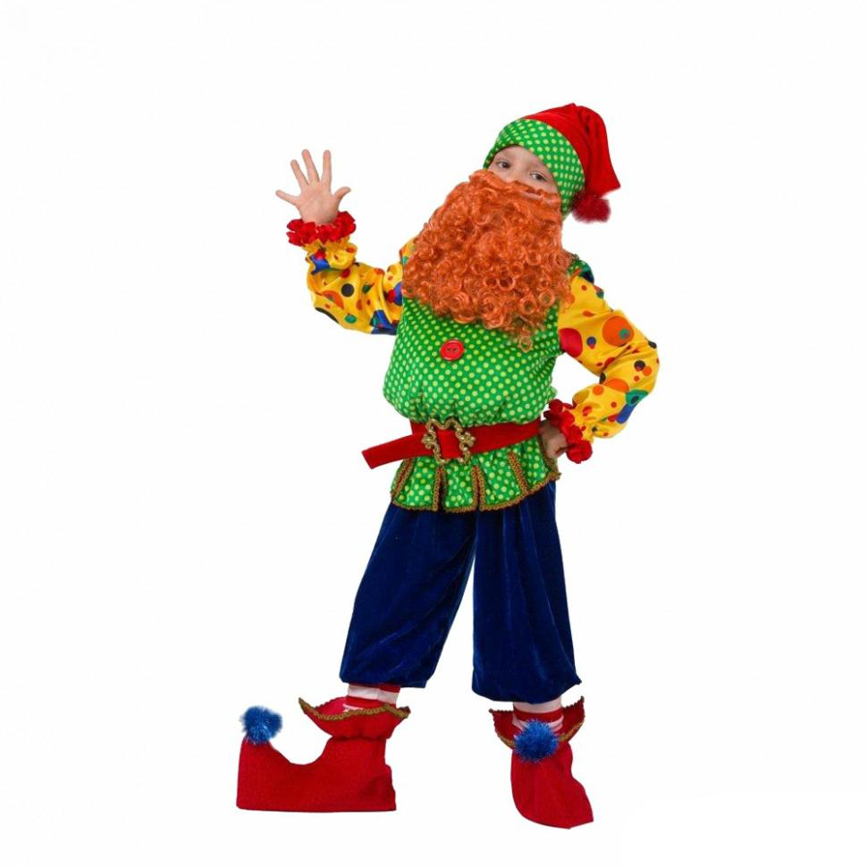 Батик Костюм карнавальный для мальчика Гном Том размер 28