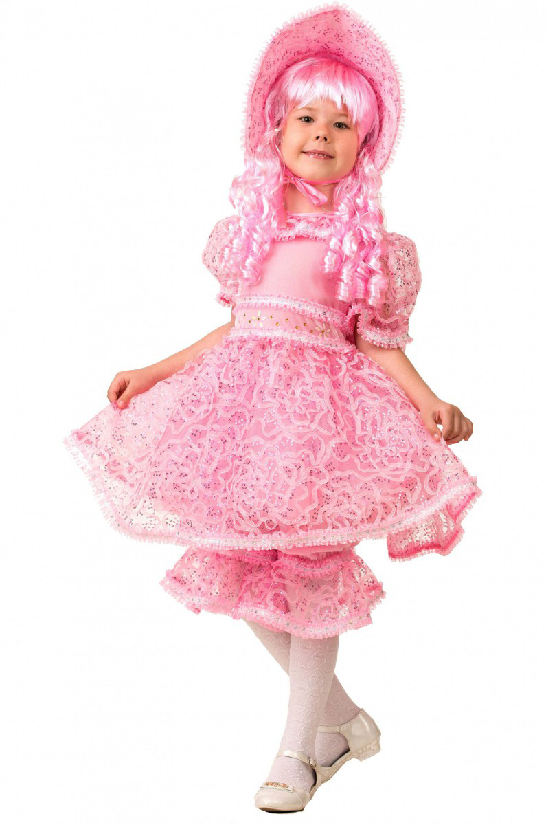 Батик Костюм карнавальный для девочки Кукла размер 36