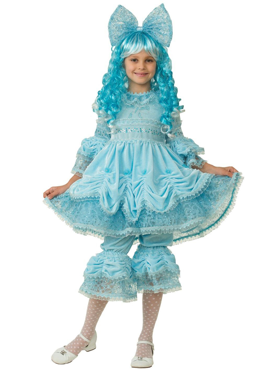 Батик Костюм карнавальный для девочки Мальвина размер 30