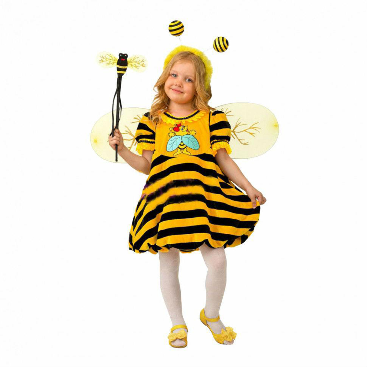 Батик Костюм карнавальный для девочки Пчелка размер 30