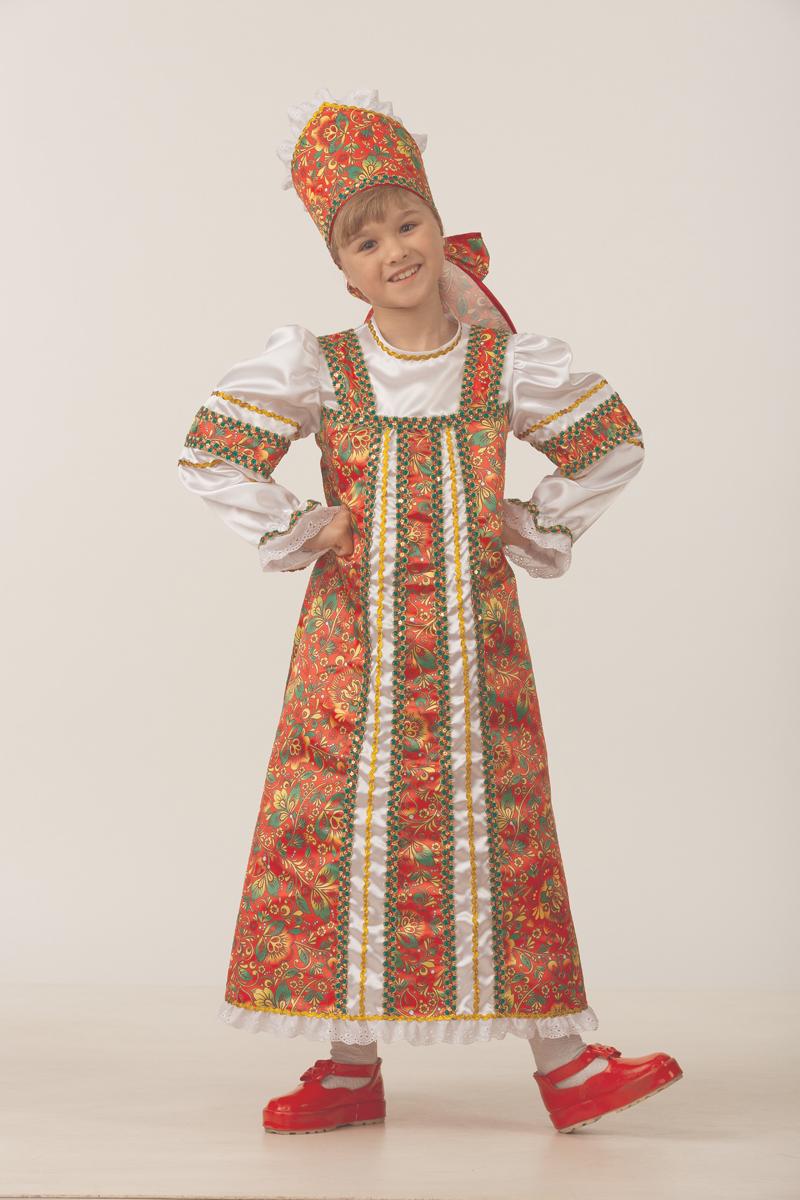 Батик Костюм карнавальный для девочки Аленушка размер 32 батик костюм карнавальный для девочки пиратка цвет красный размер 32