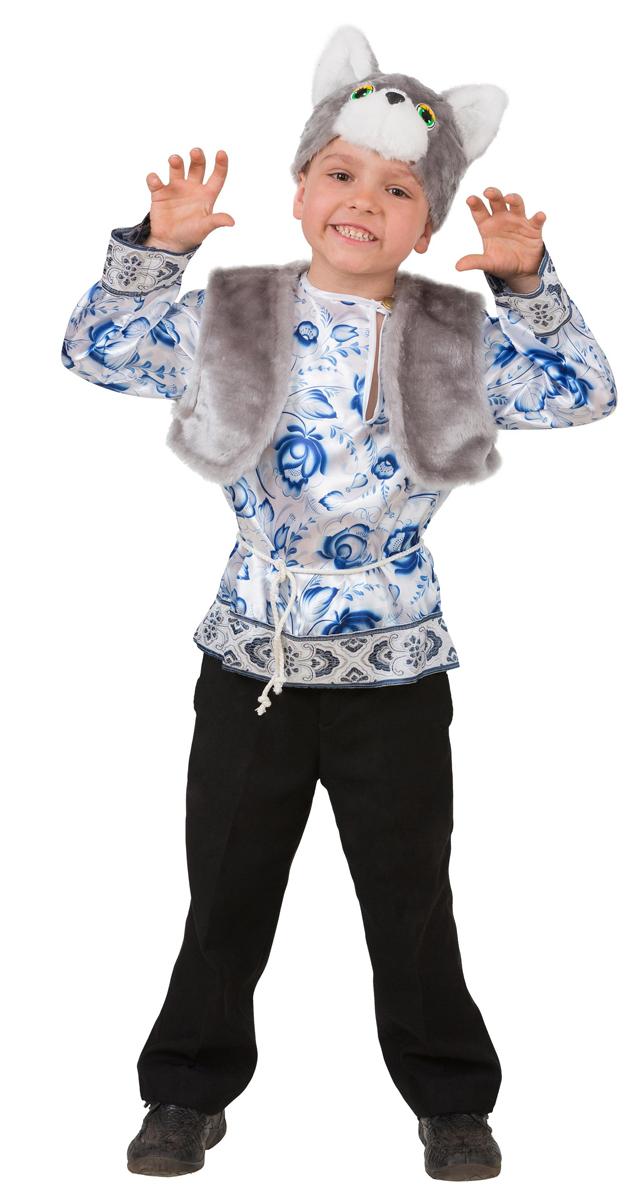 Батик Костюм карнавальный для мальчика Котик Макарка размер 28 купить золото по низким ценам в москве
