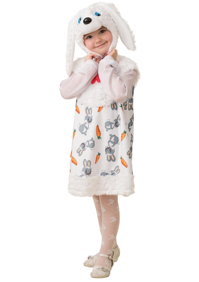 Батик Костюм карнавальный для девочки Зайка Сонька размер 28 батик костюм карнавальный для девочки зайка зоська размер 30 32