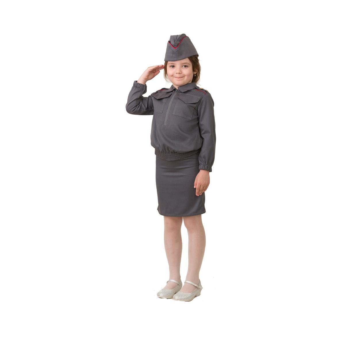 Батик Костюм карнавальный для девочки Полицейская размер 30
