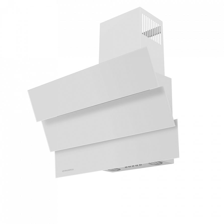 Кухонная вытяжка MAUNFELD Cascada Mini 60 белый Подсветка рабочей зоны Модель оснащена ярким галогенным освещением...