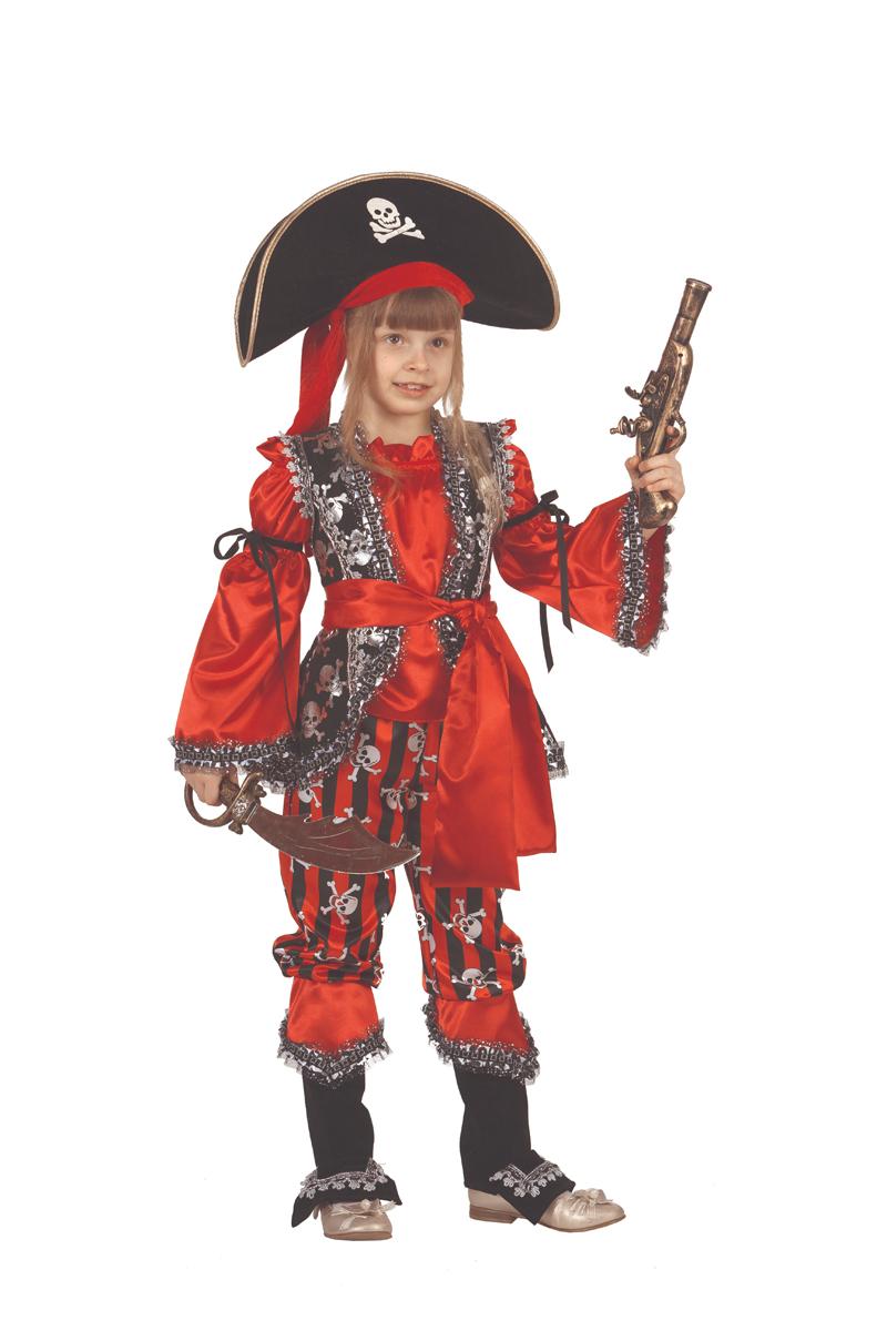 Батик Костюм карнавальный для девочки Атаманша размер 32