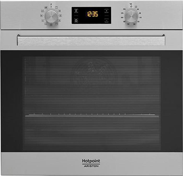 Духовой шкаф Hotpoint-Ariston FA5 844 C IX HA, электрический, встраиваемый, silver