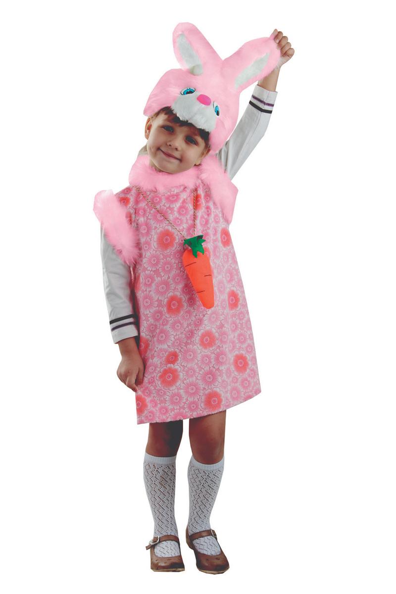 Батик Костюм карнавальный для девочки Зайка Липси цвет розовый размер 28 батик костюм карнавальный для девочки зайка размер 28