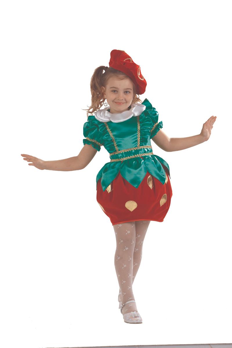 Батик Костюм карнавальный для девочки Клубничка размер 30