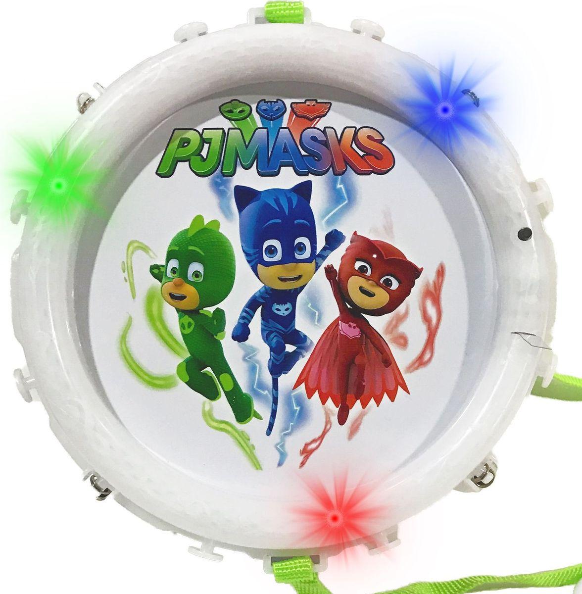 Герои в масках Барабан супергероя