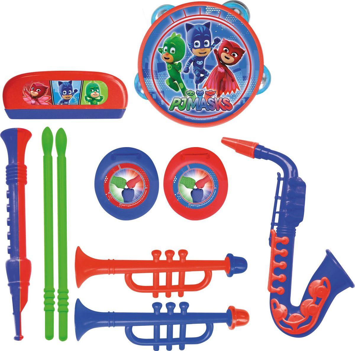 Герои в масках Набор музыкальных инструментов 7 предметов