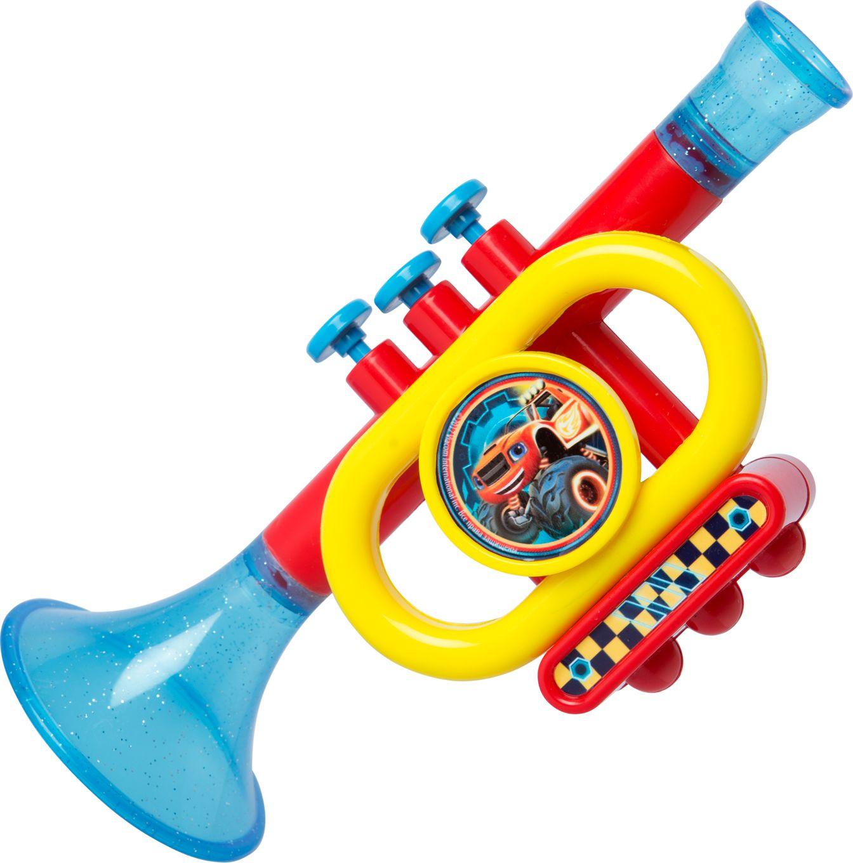 Музыкальная игрушка Вспыш Игрушечная труба гитара игрушечная росмэн с медиатором вспыш