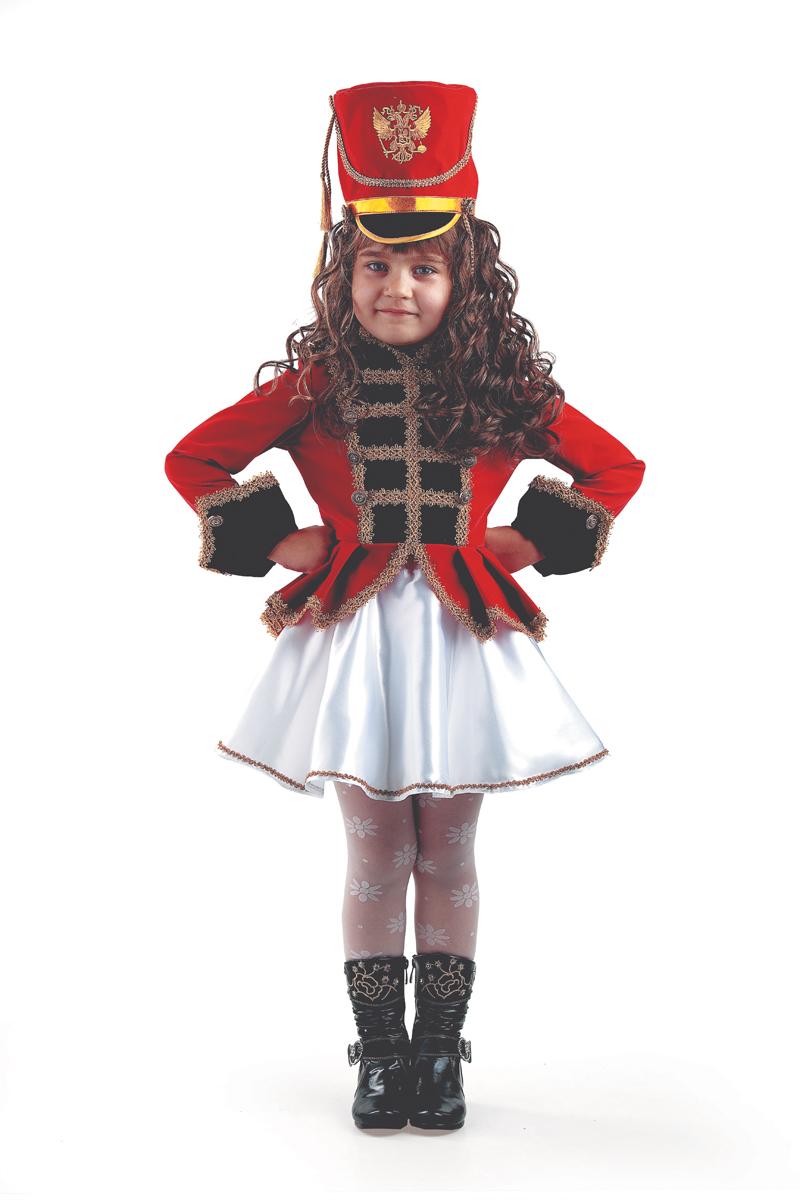 Батик Костюм карнавальный для девочки Мажоретка размер 28