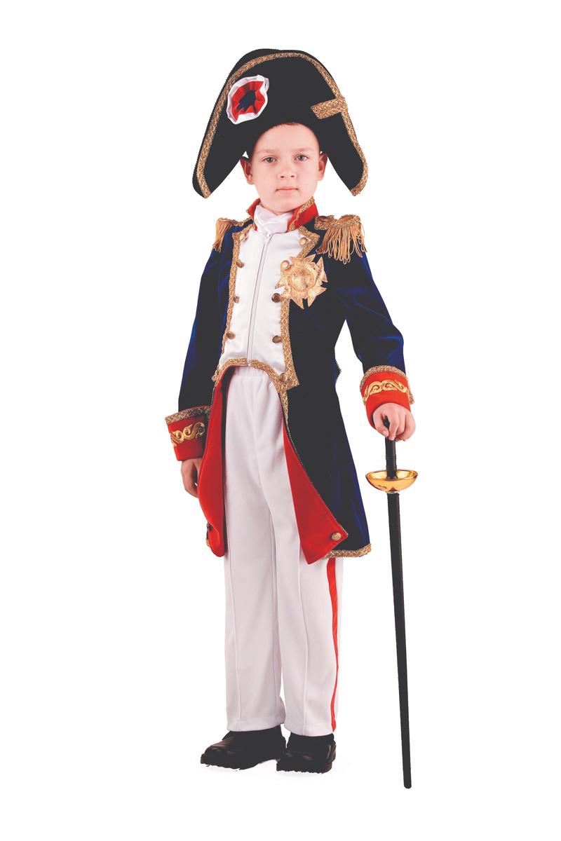 Батик Костюм карнавальный для мальчика Наполеон размер 30