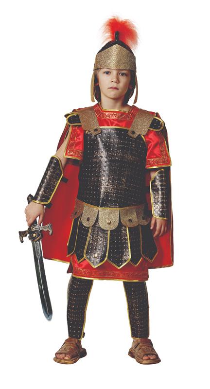 Батик Костюм карнавальный для мальчика Римский воин размер 32