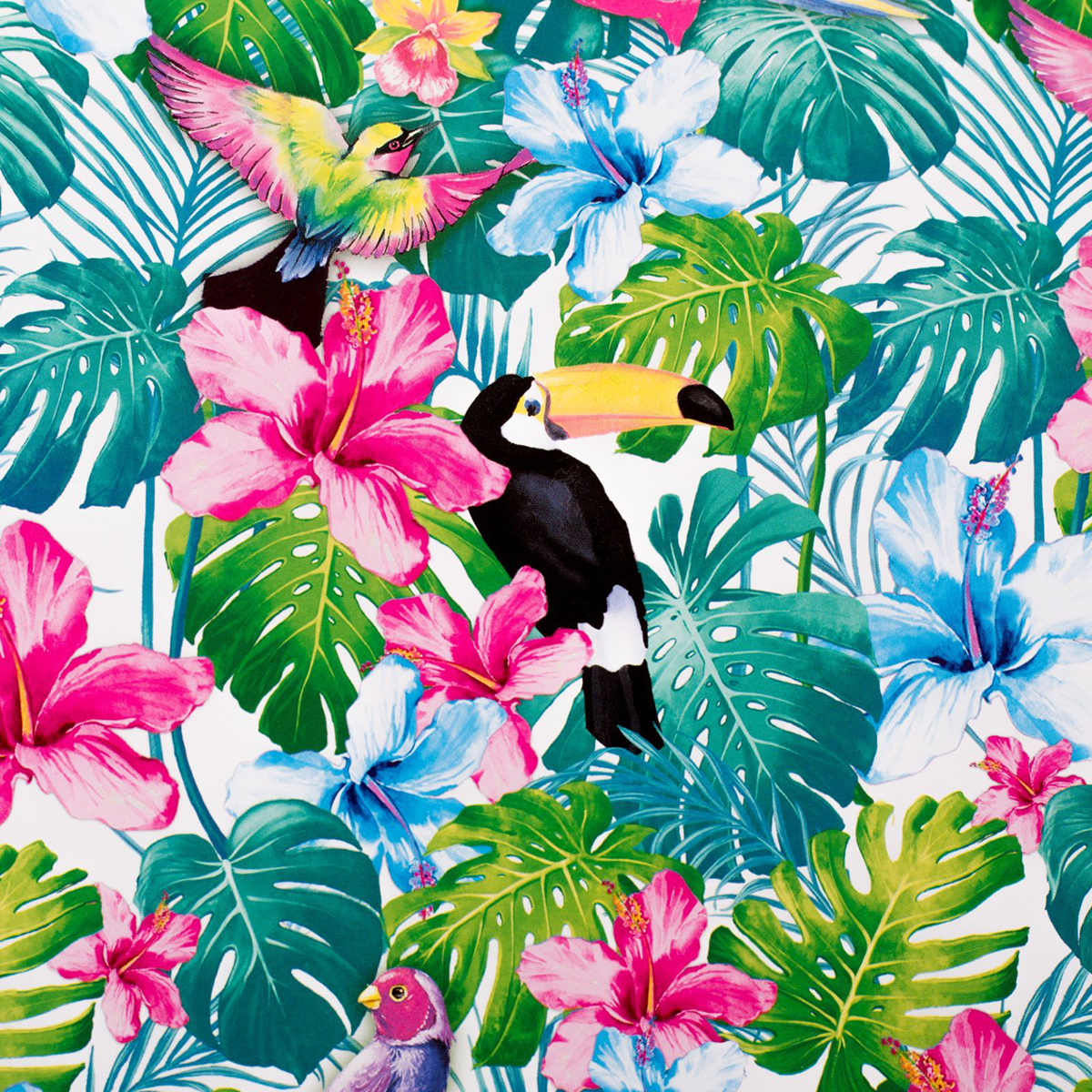 """Бумага упаковочная Дарите счастье """"Лето в тропиках"""", глянцевая, 70 х 100 см"""