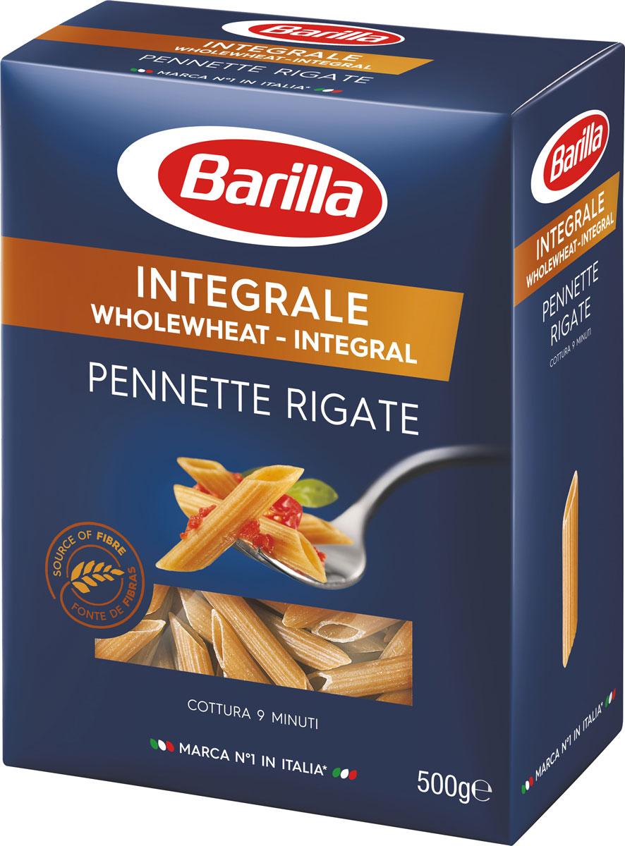 Barilla Пеннете Ригате интеграле, 500 г