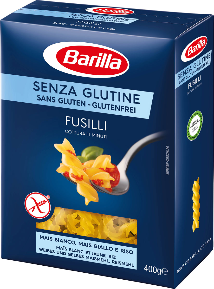Barilla Фузилли без глютена, 400 г