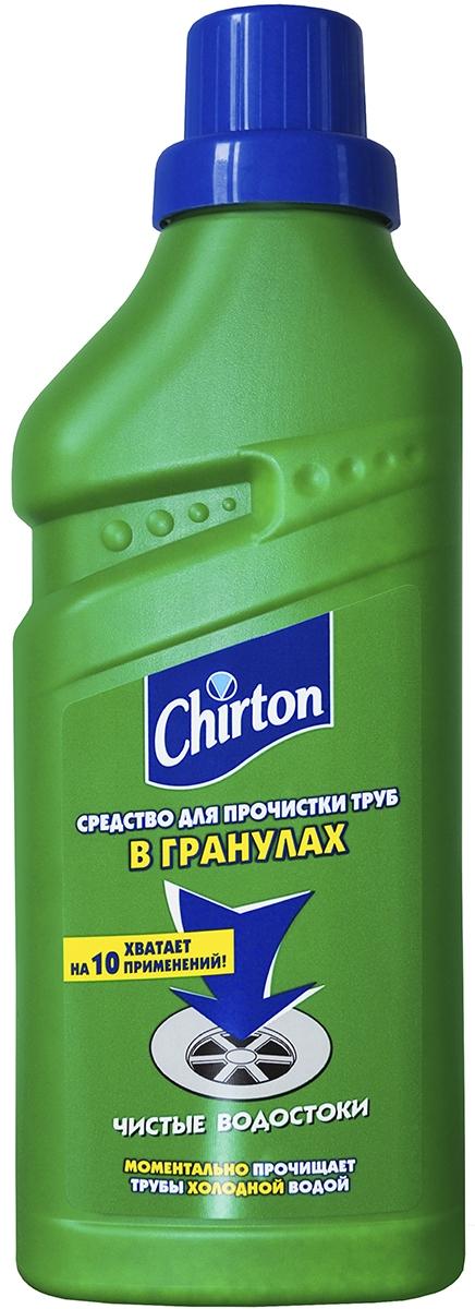 """Средство для прочистки труб холодной водой """"Chirton"""", в гранулах, 600 г"""