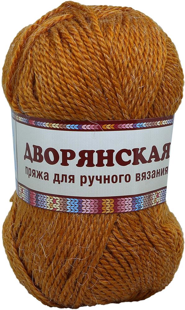 """Пряжа для вязания Камтекс """"Дворянская"""", цвет: золотистый (112), 160 м, 100 г, 10 шт"""