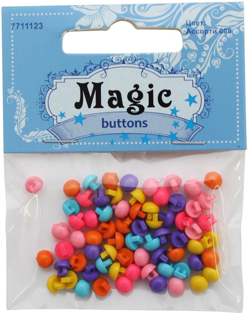 Набор пуговиц Magic Buttons Ассорти 008, на ножке, 5 г комплекты детской одежды luvable friends подарочный набор одежды 5 предметов 07133