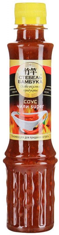 Стебель Бамбука соус чили Super, 280 г цена в Москве и Питере