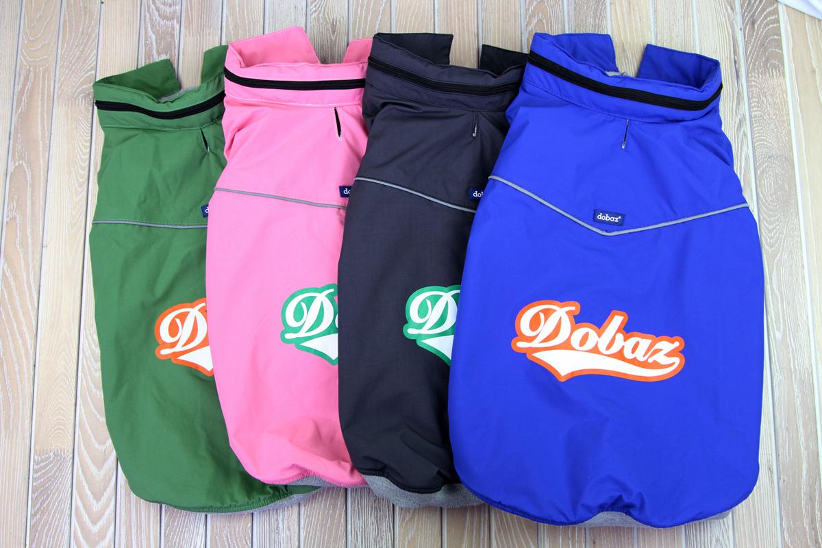 "Куртка для собак ""Dobaz"", водонепроницаемая, утепленная, цвет: зеленый. ДА1204СХЛ. Размер XL"