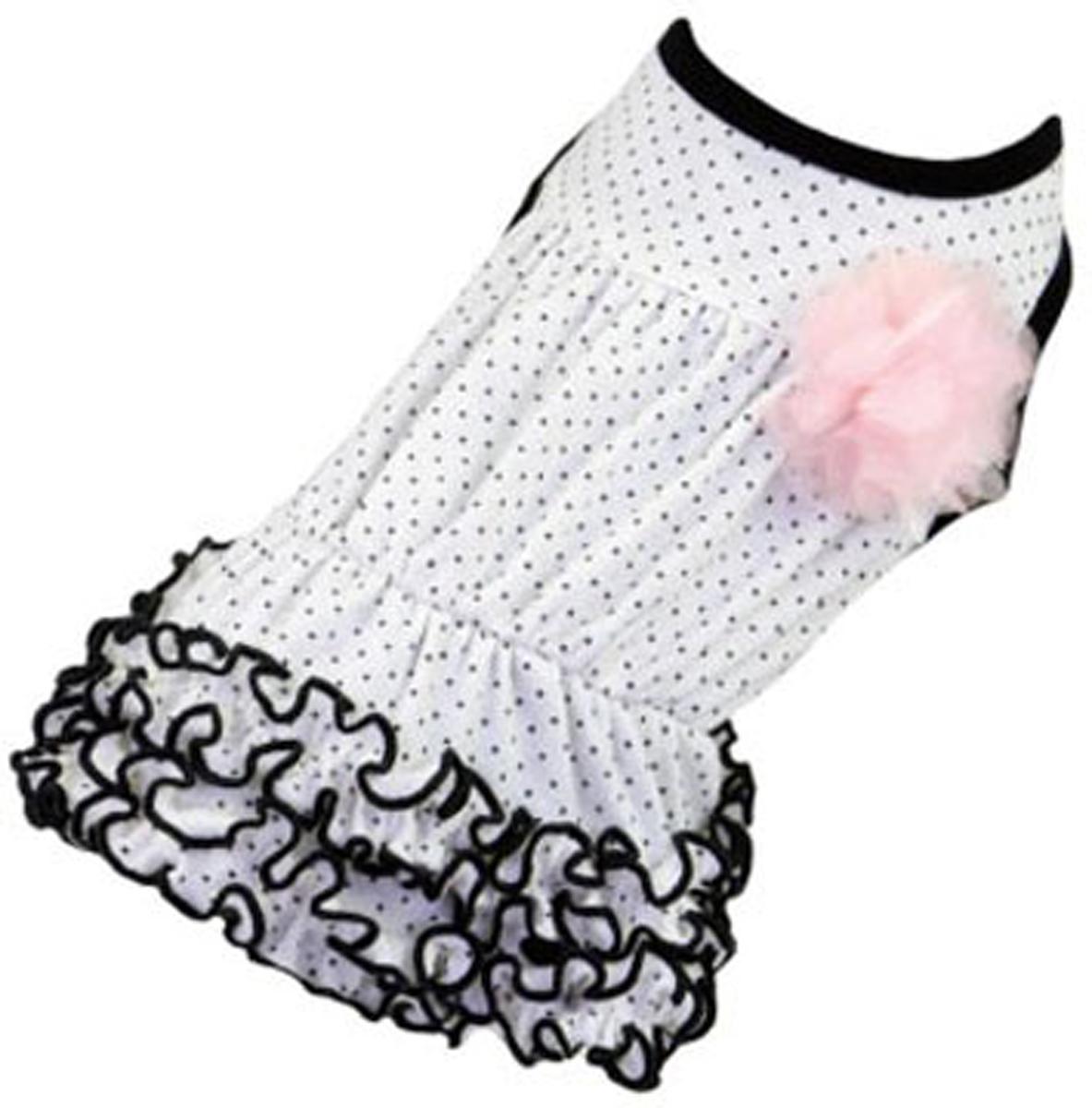 """Платье для собак """"Dobaz"""", цвет: белый. ДА13019БЛ. Размер L"""