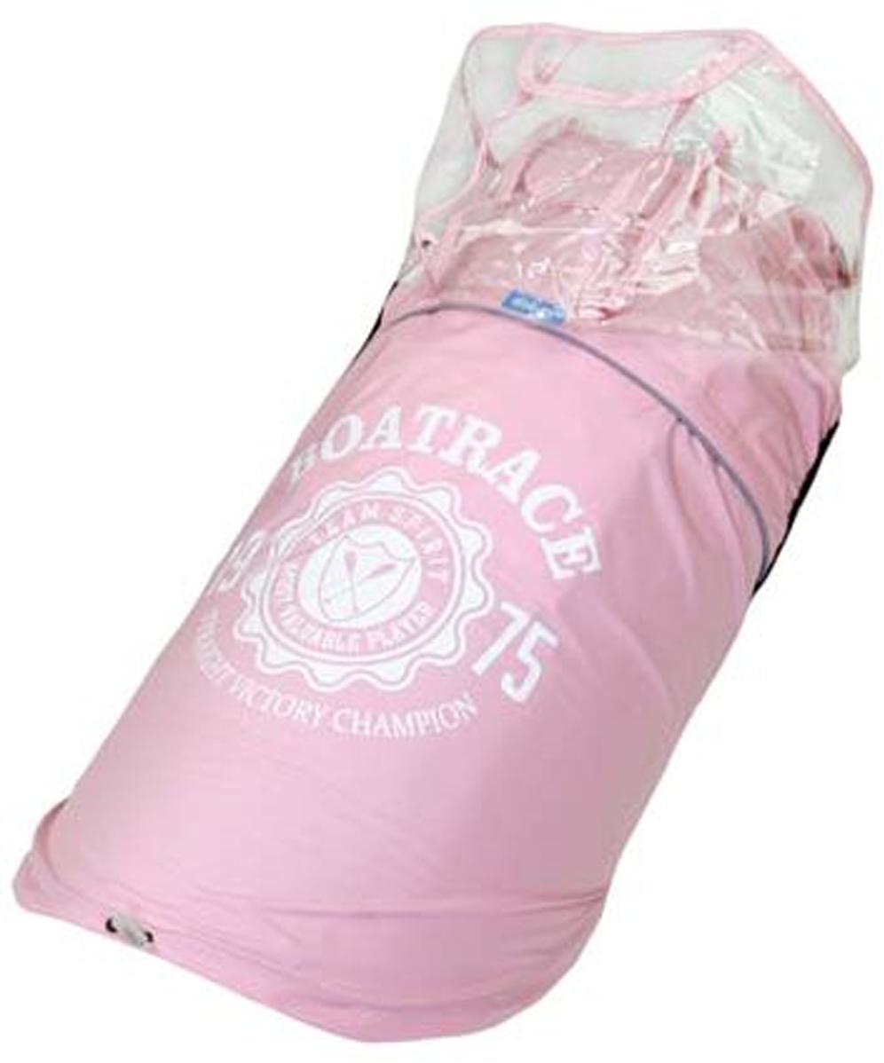 """Куртка для собак """"Dobaz"""", водонепроницаемая, цвет: прозрачно-розовый. ДА13033БХЛ. Размер XL"""