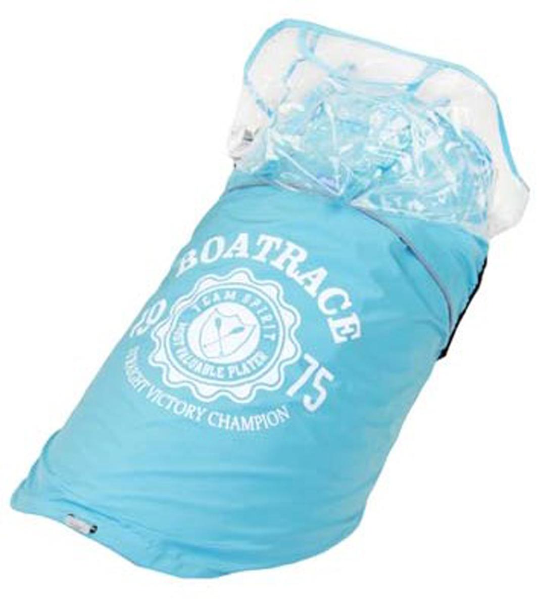 Куртка для собак Dobaz, водонепроницаемая, цвет: прозрачно-синий. ДА13033Д3ХЛ. Размер 3XL куртка dimex 668 3xl