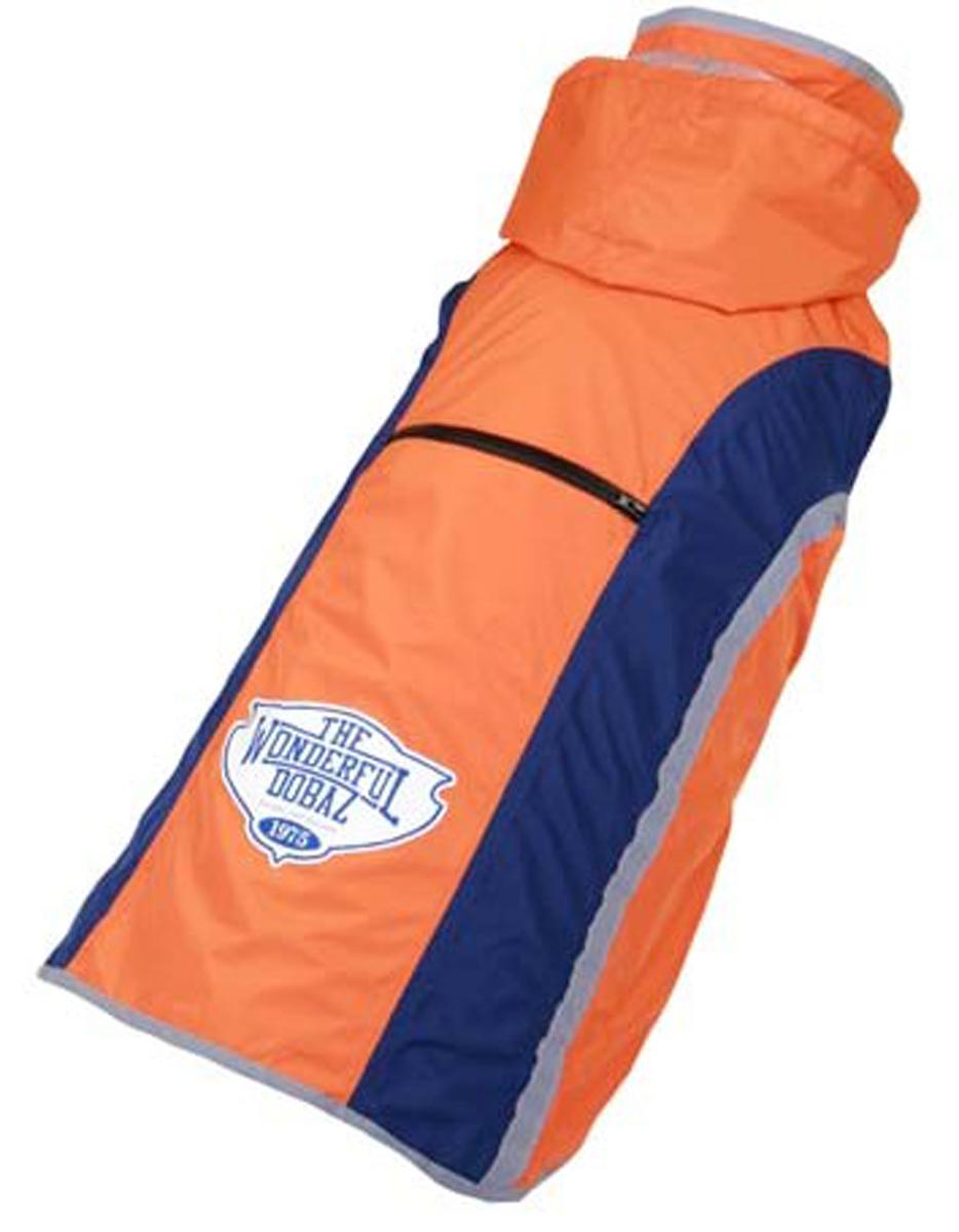 "Куртка для собак ""Dobaz"", водонепроницаемая, цвет: оранжевый. ДА13036Д6ХЛ. Размер 6XL"
