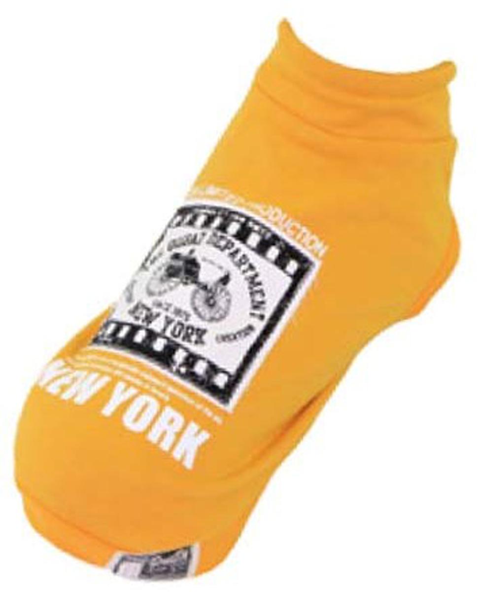 Толстовка для собак Dobaz New York, цвет: желтый. ДА13073БХЛ. Размер XL одежда для собак большой размер зимний осеннее пальто больших собак толстовка с капюшоном одежда 100