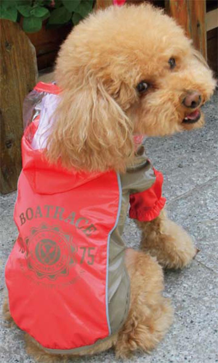 """Куртка для собак Dobaz """"Boatrace"""", цвет: красный. ДА13079АЛ. Размер L"""