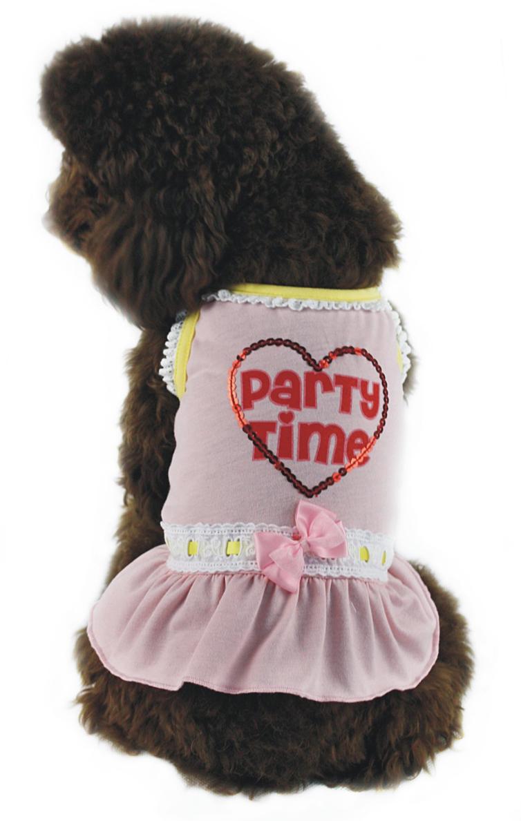"""Платье для собак """"Dobaz"""", цвет: розовый. ДГ1110БХЛ. Размер XL"""