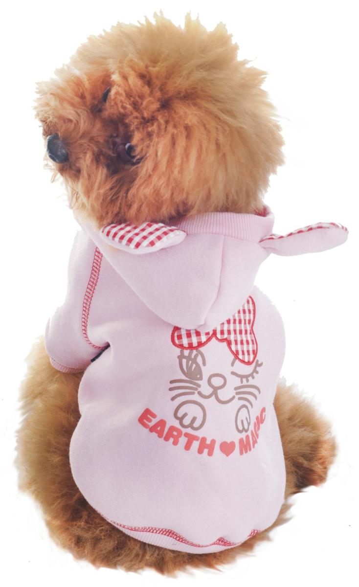 "Куртка для собак ""Dobaz"", утепленная, цвет: розовый. ДЛ1104АХХЛ. Размер XXL"